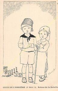 CPA Illustrator Maryel Circa 1914 1918 Series 3 n2