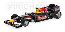 MINICHAMPS 410 100305 RED BULL RB diecast F1 race car S Vettel Japan 2010 1:43rd