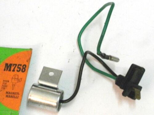 Autobianchi A112-Fiat Uno-Ritmo-Regata-126 condensateur d/'allumeur VALEO M758