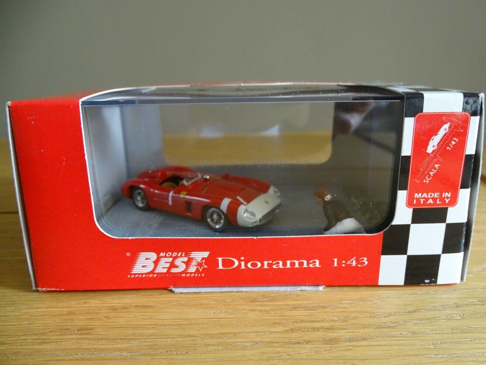 1 43 Best Model 9607 1965 Ferrari 860 Monza Nurburgrin J.M Fangio