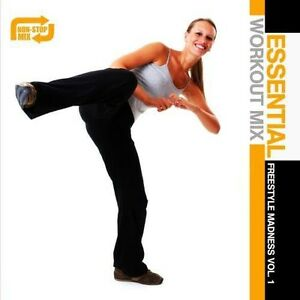 Various-Artists-Essential-Workout-Mix-Freestyle-Madness-1-Various-New-CD
