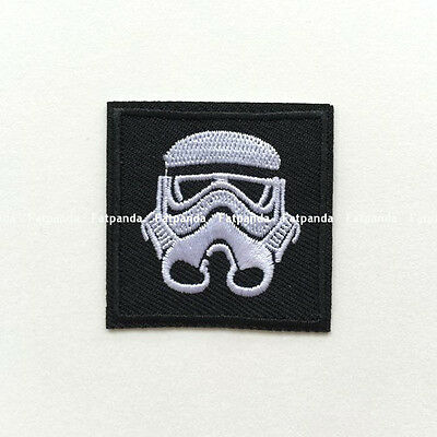 iron/sew on embroidered patch Imperial Stormtrooper Star Wars Storm Trooper jy