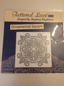 Tattered-Lace-039-Ornamental-Square-039-Metal-Cutting-Die-D649