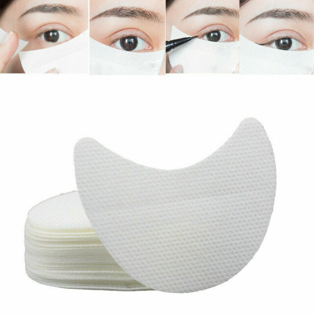 100Pcs Eyelash Pad Under Eye Shadow Eye Stickers Makeup Eyeliner Shields Patches