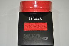 Nastro Manubrio FIZIK PERFORMANCE 3mm TACKY TOUCH Red/BAR TAPE FIZIK PERFORMANCE