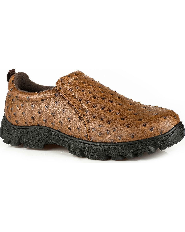 Roper Men's Cotter Ostrich Print Casual shoes  - 09-020-1571-0407 TA