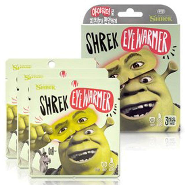 SevenEight Shrek Eye Mask Hot For Relax Relaxing Care