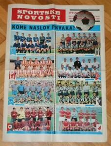 Sn Yugoslavia 1967 Special Edition Football Hajduk Dinamo Red Star Partizan Team Ebay