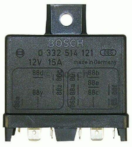 BRAND NEW GENUINE PART 0332514121 BOSCH RELAY BODY ELECTRONICS