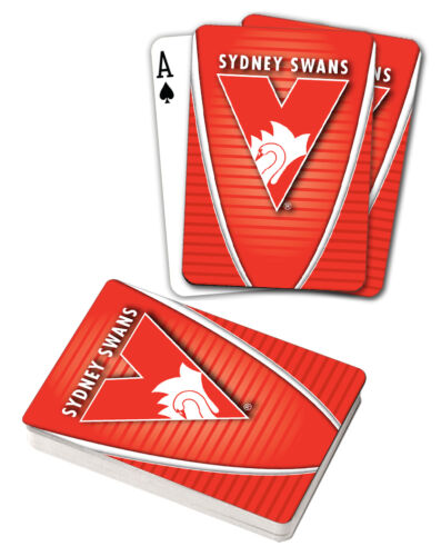 AFL Sydney Swans Aussie Rules Deck Playing Cards Poker Cards Xmas Birthday Gift