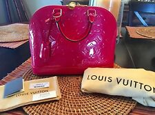 Louis Vuitton Vernis Alma PM Hot Pink!!!