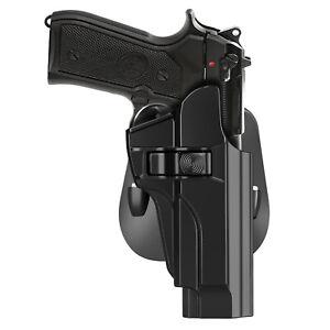 Details about Paddle Holster Fits Beretta 92 92FS M9 M9A1 M9_22 Handgun  holder Righ-hand