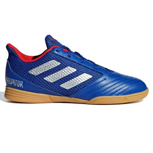 adidas Kids Boys Predator 19.4 Childs Indoor Football Trainers Boots Lace Up
