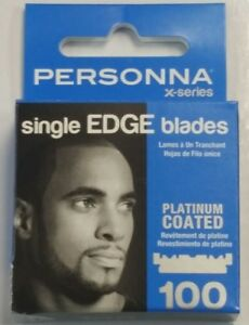 New-Personna-Single-Edge-Platinum-Coated-Blades-100-Pcs-Barber-Shaving-Razor