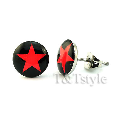 UNIQUE T/&T Stainless Steel Stud Earrings NEW