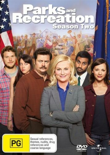 1 of 1 - Parks And Recreation : Season 2 (DVD, 2011, 4-Disc Set) Brand New & Sealed R2, 4