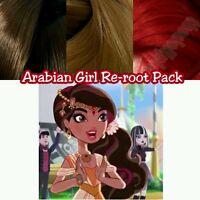 Ever After High Arabian Girl Custom Doll Re-root Pack Nylon Hair Color Blend Kit