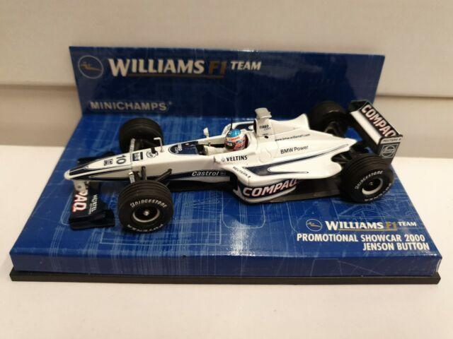 Minichamps Escala 1/43 430 000080 Williams Showcar Jenson Button 2000