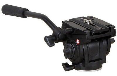 Kenro 701HDV W/501PL QR Plate Pro Fluid Video Mini Head for Manfrotto Tripod U0
