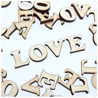 COOPER WOODEN WOOD LOVE WORD VALENTINE ROMANCE CRAFT CARD MAKING SCRAP BOOKING