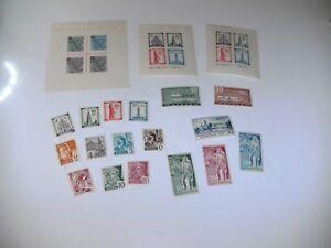 Baden-1948-1949-Sammlung-postfrisch-fast-komplett-mit-den-3-Bloecken