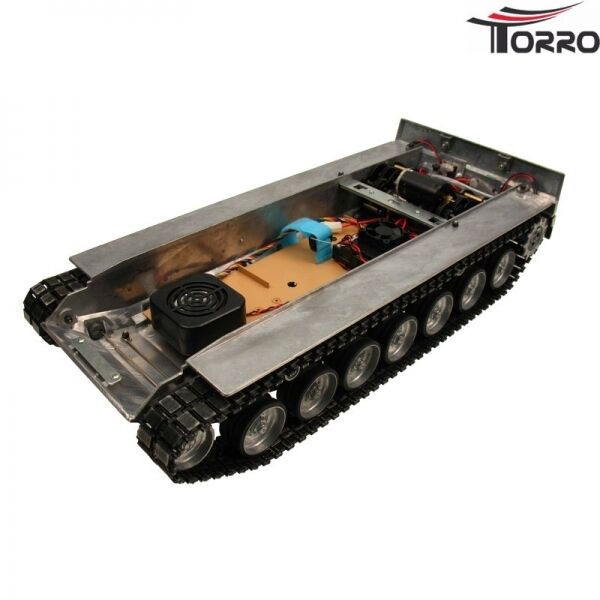 Metallunterwanne Leopard 2A6 Transmission and Electronic Heng Long 1 16
