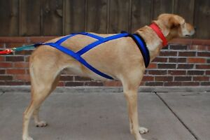 s l300 sled dog harness 25 30 husky malamute samoyed x back racing ebay
