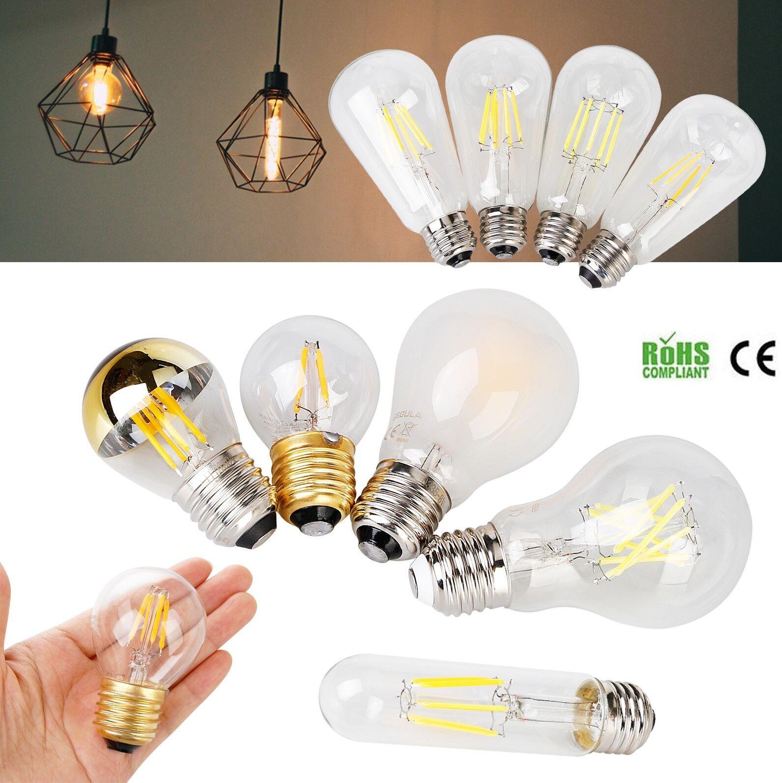 Al por mayor 20x Edison Bombillas Led Luz Vintage Regulable E26 E27 E12 E14 6 W 8 W 10 W