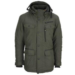 Online-Shop Volumen groß größte Auswahl an Details about Wellensteyn Men's Winter Jacket Chester Winter Army Green  Chew 04 Blackarmy