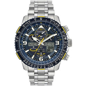 396823a85a2 Citizen Men s Blue Angels Skyhawk Eco-Drive Atomic Time Keeping ...