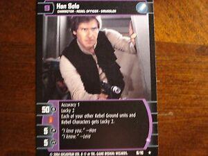 kaartspellen Verzamelingen I Star Wars TCG R&S Han Solo