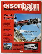 EISENBAHN Modellbahn Magazin 5/1999