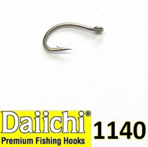 DAIICHI 1140 Scud Shrimp Midge Hook 25 Pack Hooks