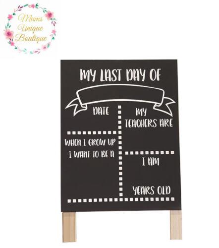 First Day At School Daycare Preschool Chalkboard Chalk Board Decoration