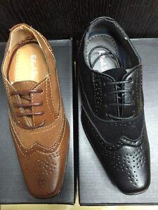 Boys Brogues Boys Brown Shoes Boys Tan Shoes Boys Formal Shoes