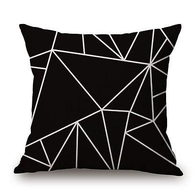 Vintage Bohemia Style Colorful Geometric Cotton Linen Pillow Case Cushion Cover