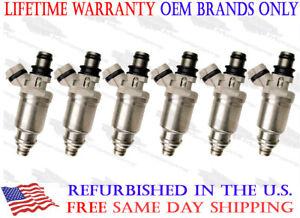 Lifetime Warranty-Mitsubishi 3.0L OEM Denso Fuel Injector Set of 6-195500-5670