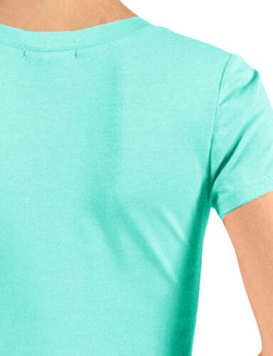 NE PEOPLE Women/'s Light Short Sleeve Basic Solid Cotton V Neck T Shirt NEWT134