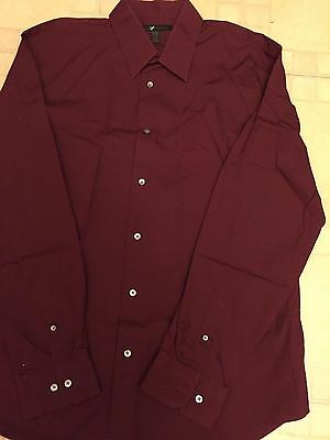 Soft And Antislippery Considerate Express Design Studio Men's Button Front Dress Shirt Sz Xxl 18-18-1/2