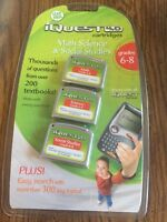 Leap Frog Iquest 4.0 Cartridge Grades 6-8 Math Science Social Studies