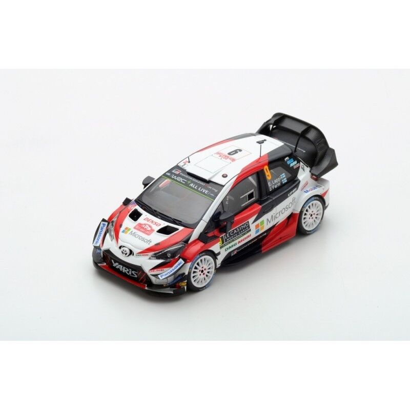 Spark S5959 - TOYOTA Yaris WRC GAZOO Lappi WRT N 9 Monte Carlo 2018 1/43