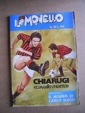 IL MONELLO n°35 1972 Chiarugi + Inserto Carlo Mauri  + Figurine Sportivi  [G430]
