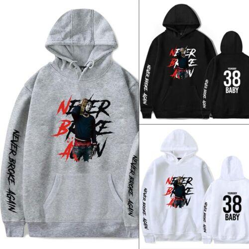 YoungBoy Never Broke Again Hoodie Men Women Casual Sweatshirts Pullover Unisex d