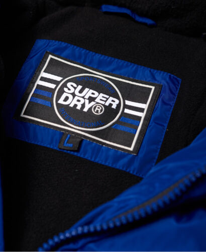 S XXXL Royal Sizes Superdry Men/'s Xenon Quilted Padded Jacket