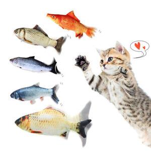 Elektronische Haustier Katze Spielzeug Elektrische Simulation Fisch Spielzeug