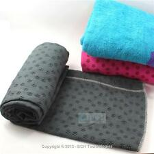 Yoga Towel with Carring Bag - Cool Gray - Super Absorbent Ultra Fine Microfiber