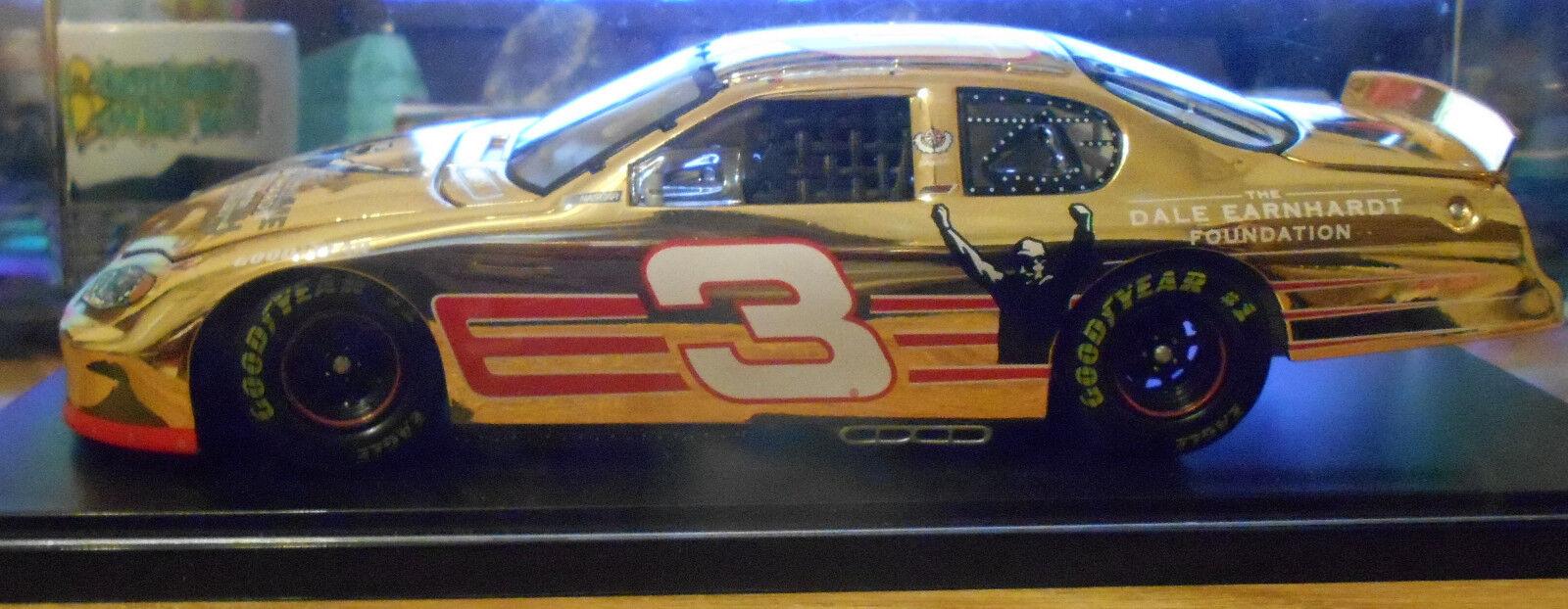 DALE EARNHARDT 24KT Gold 2003 Monte Carlo 1 24 Scale Diecast  Car