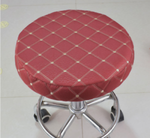 1Pc 14 Bar Stool Covers Round Chair Seat Cover Cushions Sleeve Wine Red Dental