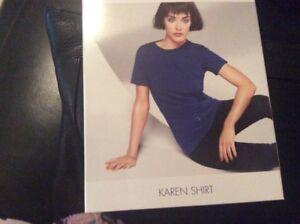 Seed Box Shirt New Medium Karen Poppy Size Wolford In XxH7OO