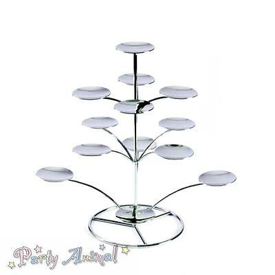 PME Quality Chrome Silver Stylish Cupcake & Dessert Display Stand Cakes
